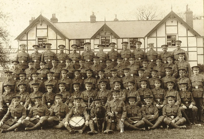 130th (St John) Field Ambulance A section