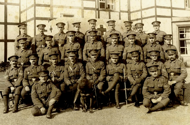 130th (St John) Field Ambulance Officers and NCOs