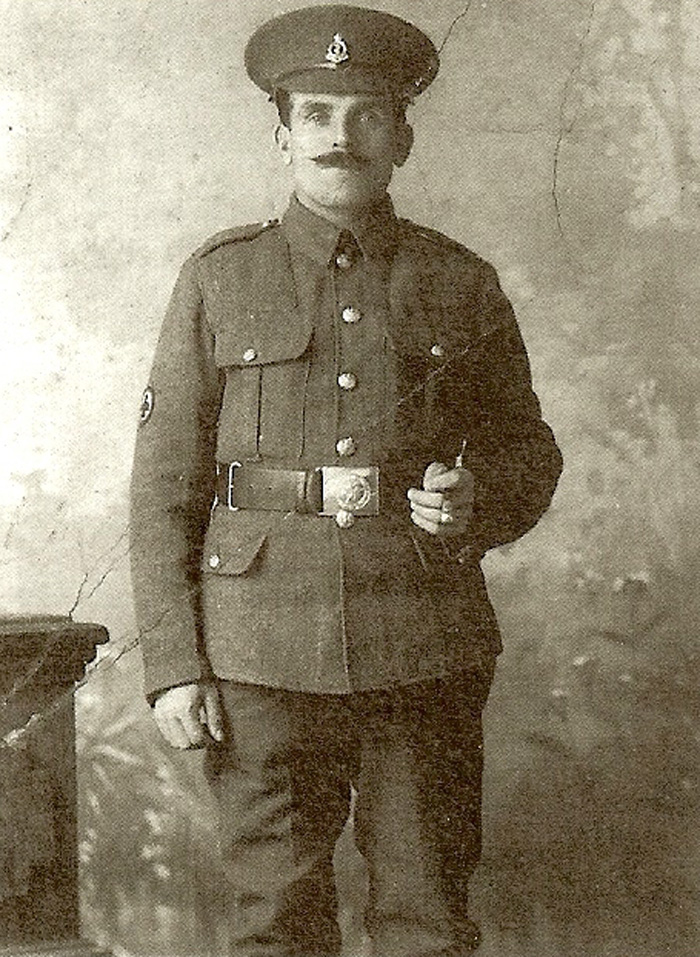 48603 Pte (later Sgt) Lemuel Powell
