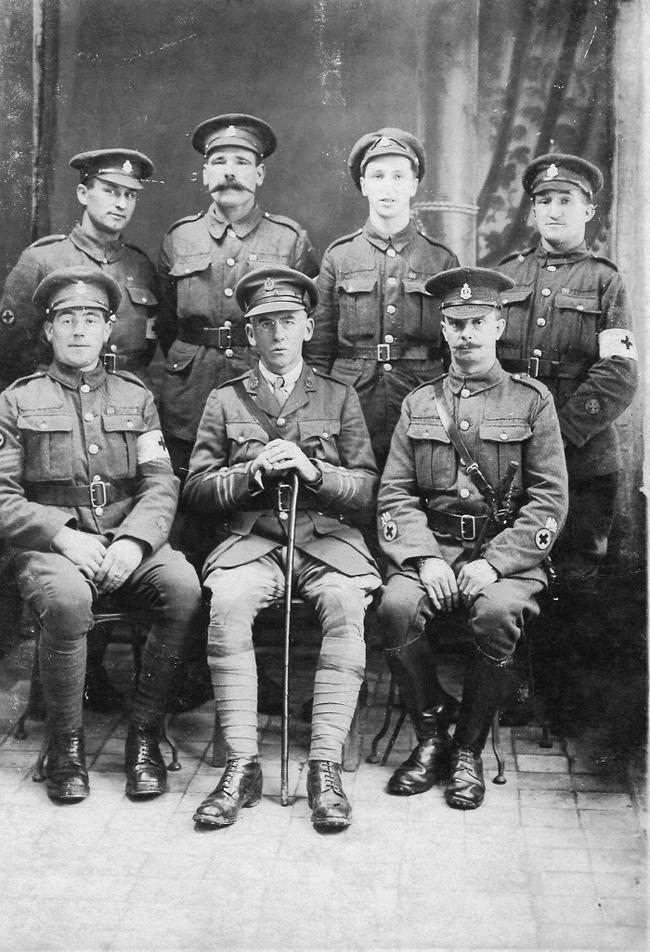 130th (St John) Field Ambulance Military Medal winners 1916
